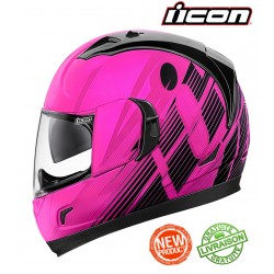 Casque ICON ALLIANCE GT PRIMARY PINK