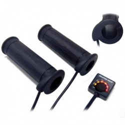 Poignee Chauffante Push 22mm + 22mm 130mm - KOSO