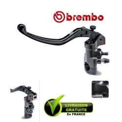 MAITRE-CYLINDRE BREMBO EMBRAYAGE RADIAL PR16X18 CNC LEVIER LONG REPLIABLE