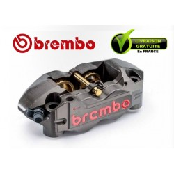 ETRIER BREMBO RADIAL MONOBLOC ENDURANCE GAUCHE P4 32/36 ENTRAXE 108MM