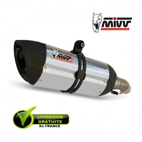 MIVV SUONO - INOX Casquette CARBONE