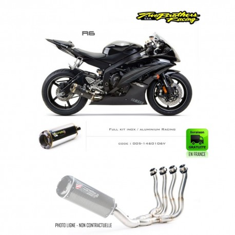 LIGNE COMPLETE - YAMAHA YZF-R6 2006-2007