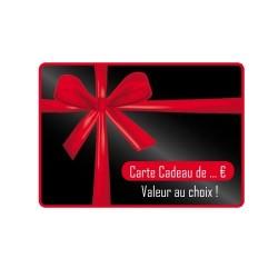 Carte Cadeau d'une valeur de xxx € , au choix !