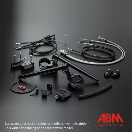 Kit MultiClip ABM Reglable - YZF-R1 - 12-14 (Kit Sport Version)