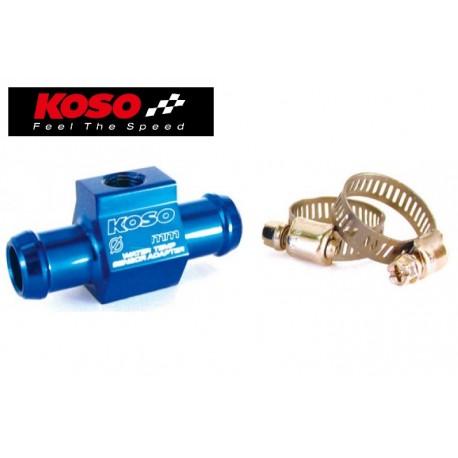 Adaptateur de sonde T° eau KOSO - montage sur durite