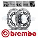 2x Disques SUPERBIKE / MOTOGP - BREMBO T.DRIVE
