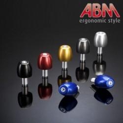 Embout de Guidon ABM - BasicCap - Bleu