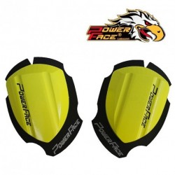 Sliders Bois POWER FACE - Special COURSE -JAUNE
