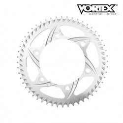 Couronne VORTEX - HONDA CR80 96-02 - Argent (ref:201)