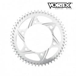 Couronne VORTEX - HONDA CR85R 05-07 - Argent (ref:201)