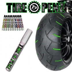 """Peinture à pneus """"TIREPENZ"""" 9 coloris !"""
