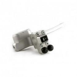 Contacteur ISR - 1 rocker + 2 poussoirs - Position droite - CNC - Guidon 25,4mm
