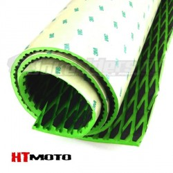 Sheet Grip 90x145cm with adhesive HTMOTO - BLACK & GREEN