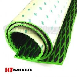 Plaque de Grip 75x90cm HTMOTO - NOIR & VERT