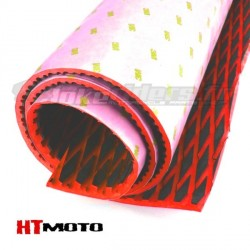 Sheet Grip 90x145cm with adhesive HTMOTO - BLACK & RED
