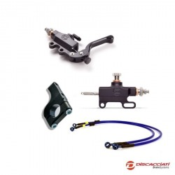 Kit complete thumb Brake DISCACCIATI with brake lines