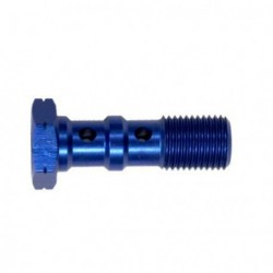 Brake Screw Double -10x100 - BLUE