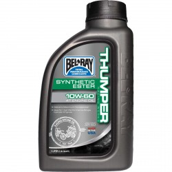 Huile moteur 4T BELRAY - 15W50 - 4 Litres - THUMPER RACING SYNTHETIC ESTER BLEND