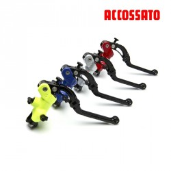 "Master Cylinder ACCOSSATO Brake 19x18 ""Color"" with Révolution Lever"