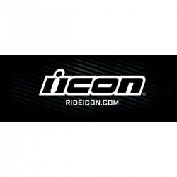 Bannière ICON - Logo Noir - 240x80cm
