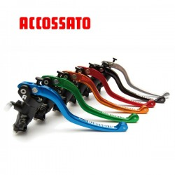 Master cylinder Black Edition - Brake 16mm ACCOSSATO - Forged with level repliable