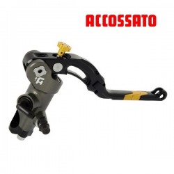 Master cylinder PRS Brake 19mm ACCOSSATO - CNC with level repliable