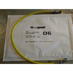 Brake line GOODRIDGE - YELLOW / INOX 64cm
