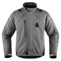 *NEW* Veste ICON RAIDEN DKR MONOCHROMATIC BLACK