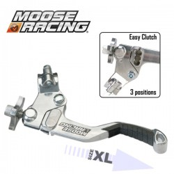 Lever Clutch XL - MOOSE RACING Asap EasyCluth - 3 positions - BLACK