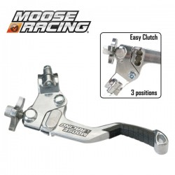 Lever Clutch Shorty - MOOSE RACING Asap EasyCluth - 3 positions - BLACK