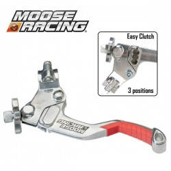 Lever Clutch Shorty - MOOSE RACING Asap EasyCluth - 3 positions - RED