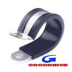 Fixing collar for brake line +/- 37mm