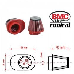 Filtre à Air conique BMC - ø55mm x 70mm - CENTERED