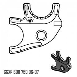 Platine Double - GSXR 600 750 06-07