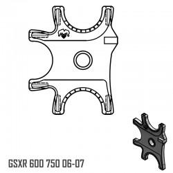 Platine Triple - GSXR 600 750 06-07
