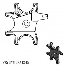 Triple Bracket - 675 DAYTONA 13-15