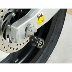 Pions de bras oscillant R&G RACING avec platine argent Aprilia RS4 50/125