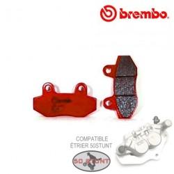 Plaquettes BREMBO pour étrier Compatible Platine 50STUNT - METAL FRITTÉ