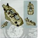 Caliper NISSIN 6 pistons RIGHT - 90mm