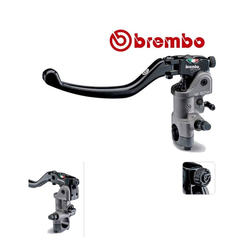 ma tre cylindre embrayage brembo pr16 rcs avec levier long repliable. Black Bedroom Furniture Sets. Home Design Ideas