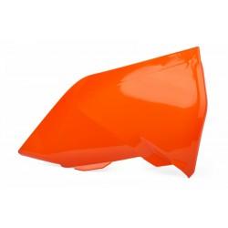 Cache boîte à air POLISPORT orange KTM