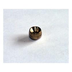 Douille de cable ronde 5x5mm Venhill laiton 20 pièces