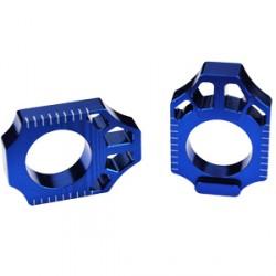 Tendeur de chaîne SCAR bleu KTM/Husqvarna