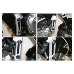 Sliders de radiateur R&G RACING noir Aprilia Mana 850