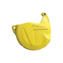 Protection de carter d'embrayage POLISPORT jaune Suzuki RM-Z450