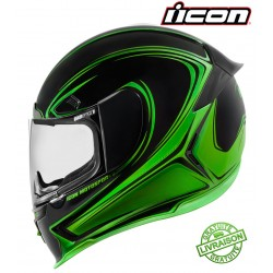 Casque ICON AIRFRAME PRO HALO GREEN - 3XL
