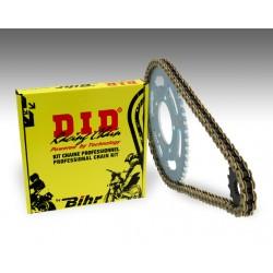 Kit chaîne D.I.D 428 type NZ 13/55 (couronne Standard)
