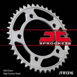 Couronne JT SPROCKETS 38 dents acier standard pas 520 type 1316
