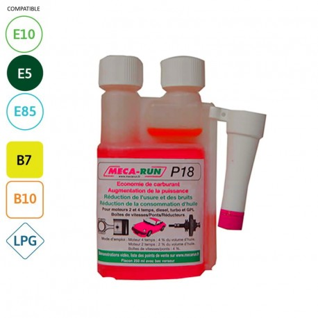 MECARUN - P18 - Additif moteur - 250ml