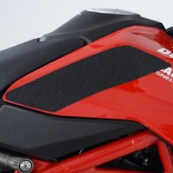 Kit grip de réservoir R&G RACING 2 pièces noir Ducati Hypermotard 950